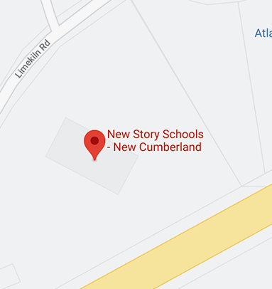 Here's our school location on the map in New Cumberland.