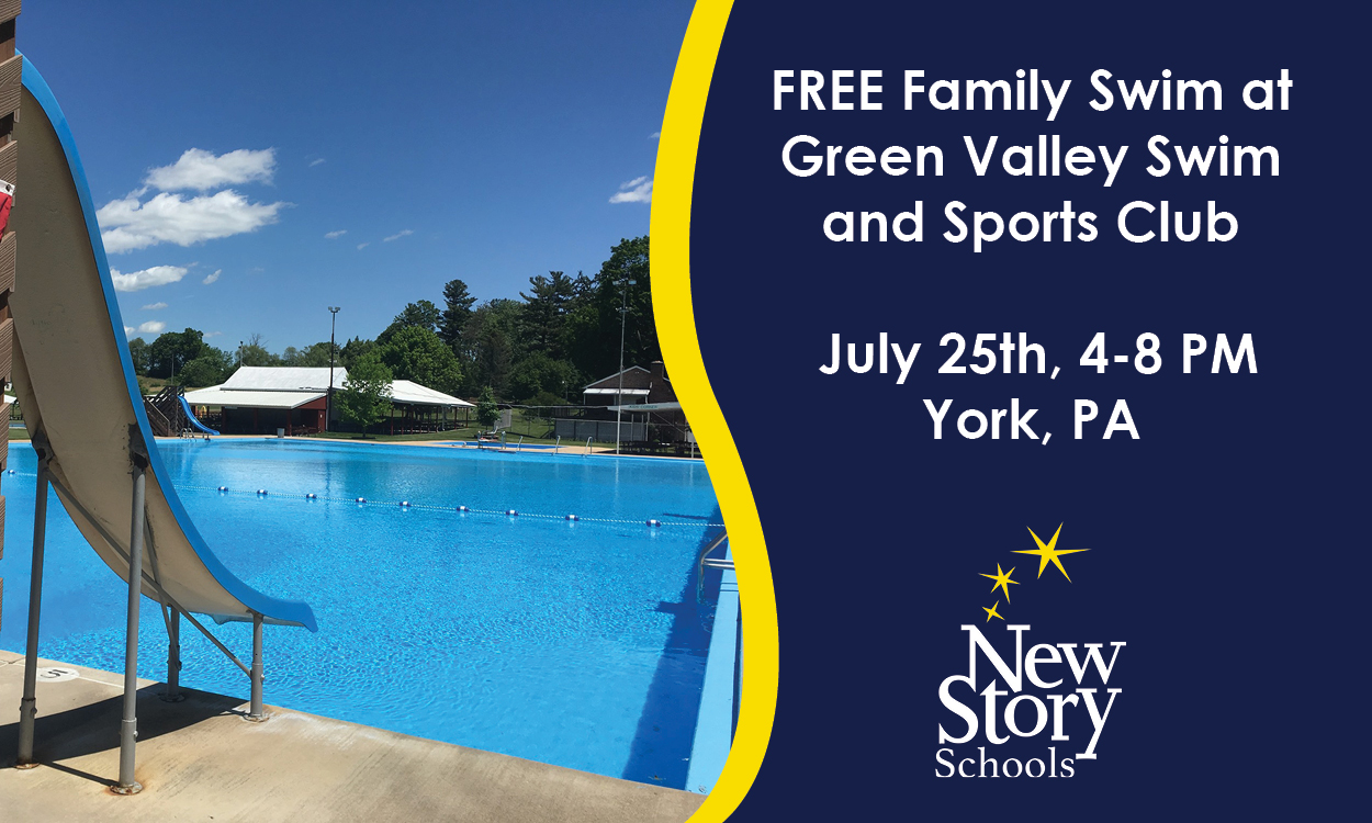 Free Family Swim at Green Valley Swim and Sports Club, York PA