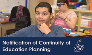NS/GTS Continuity of Education Plan Summary Distance Education