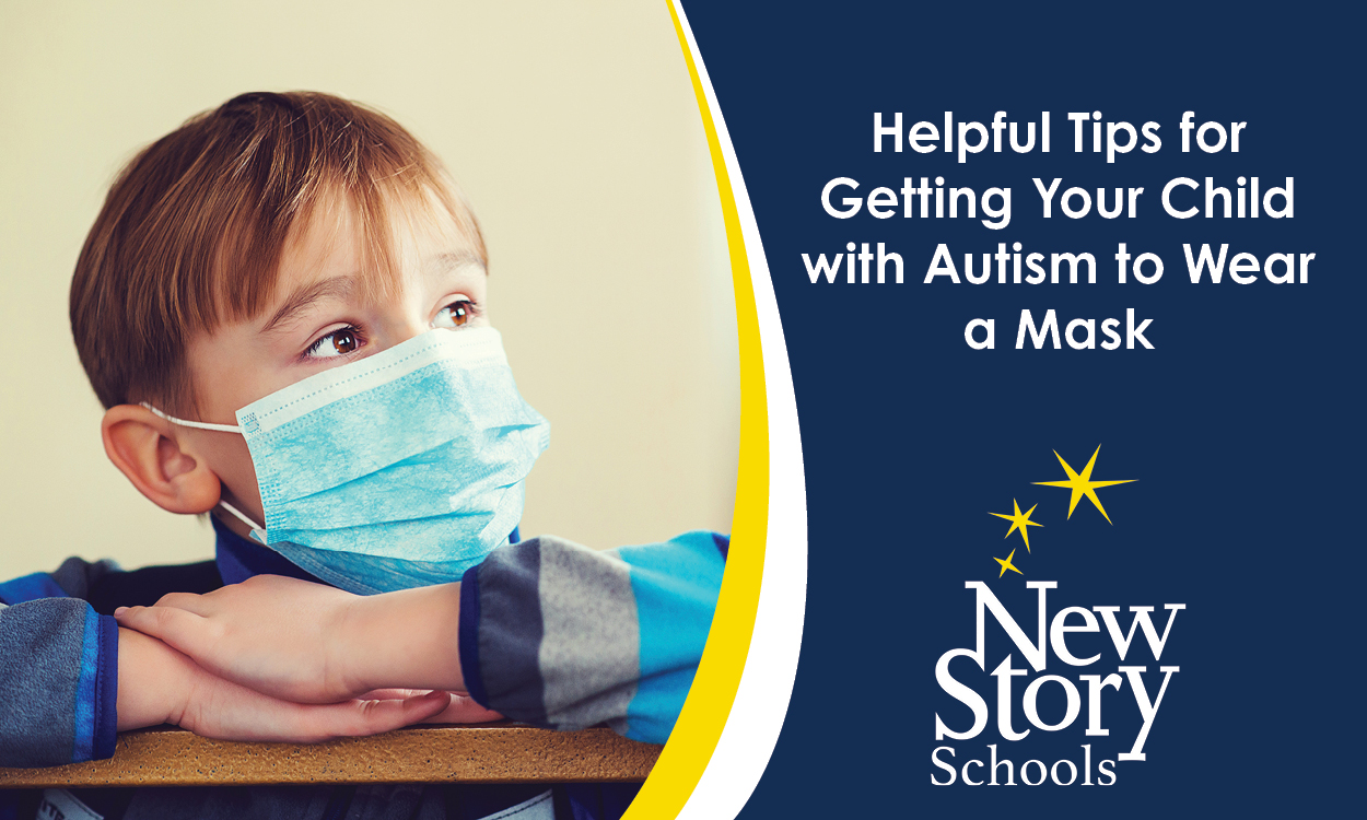 Helping Your Child with Autism Get Comfortable with a Mask