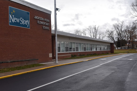 An exterior photo of the New Story School in Selinsgrove