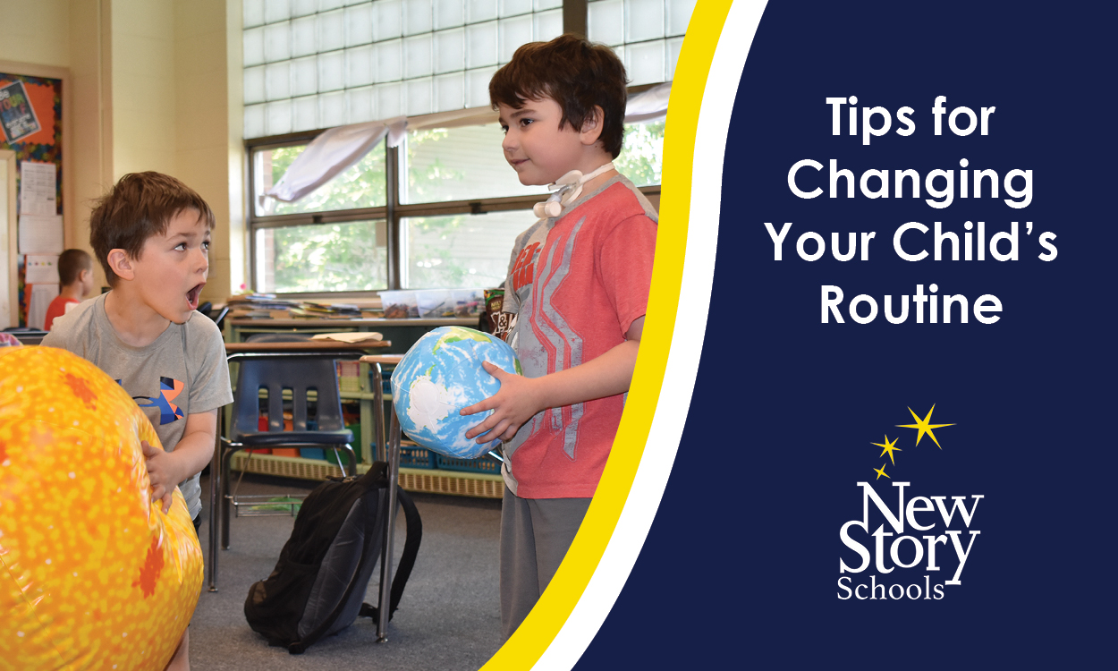 Tips for Changing Your Child's Routine