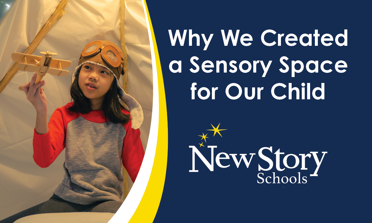 Why We Created a Sensory Space for Our Child