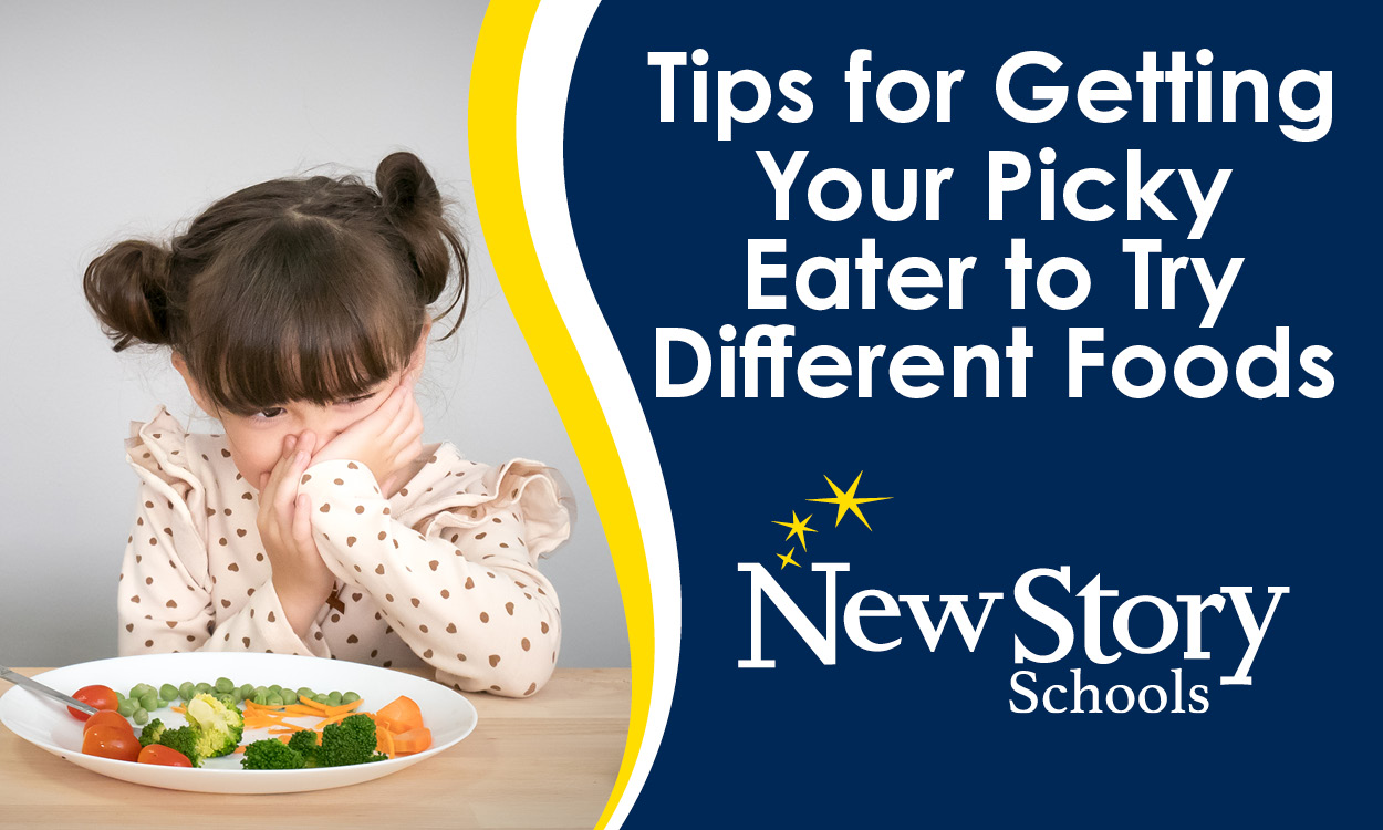Tips for Getting Your Picky Eater to Try Different Foods