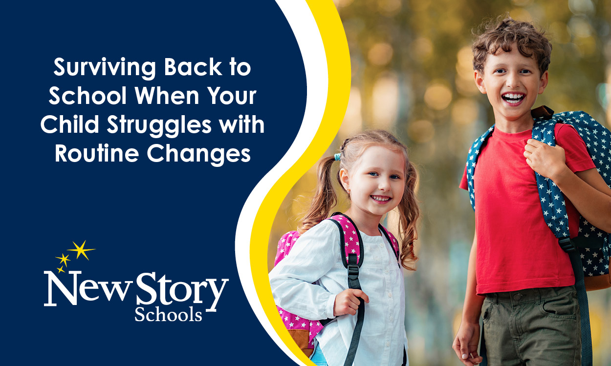 Surviving Back to School When Your Child Struggles with Routine Changes