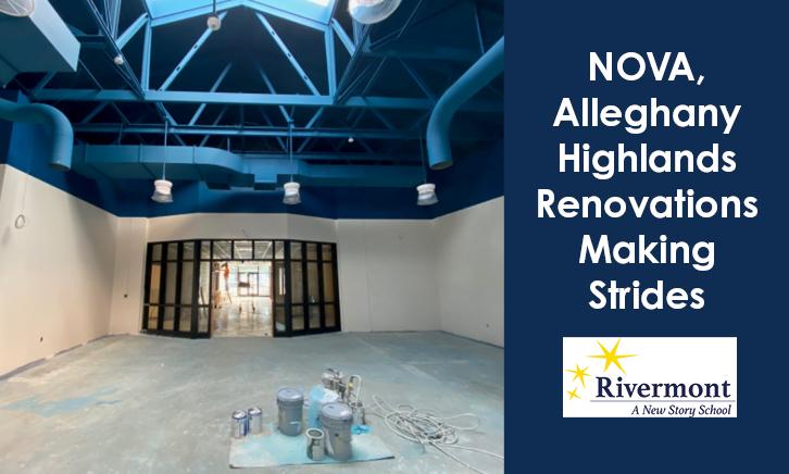 NOVA, Alleghany Highlands Renovations Making Strides