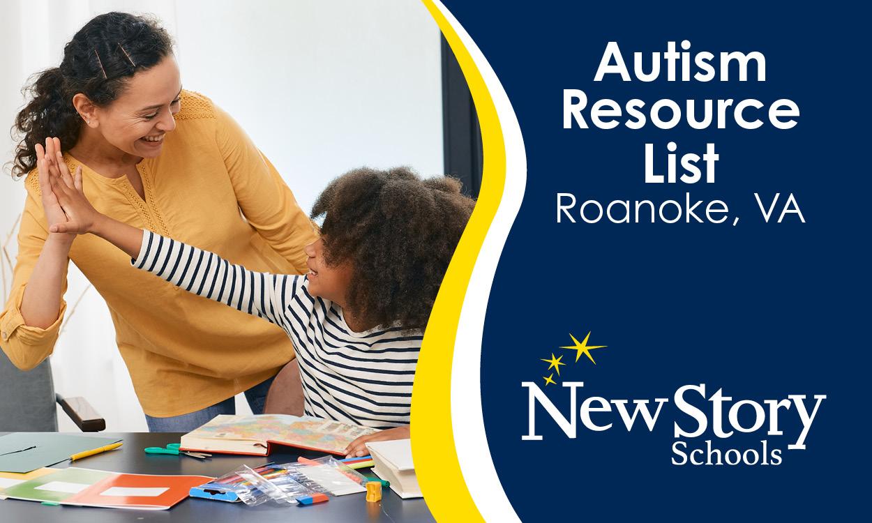 Autism Resource List -- Roanoke, Virginia